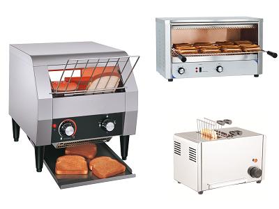 Toaster, grille pain professionnel pour hôtels et restaurants