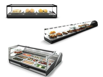 Vitrine à tapas vitrine à sushi