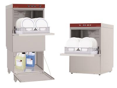 Lave-vaisselle frontal professionnel pour restauration et CHR