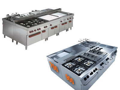 Cuisine modulaire professionnelle pour restaurant et grande cuisine