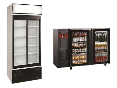 Armoire à boissons et arrière de bar réfrigéré pour bouteilles et canettes